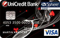 Kreditná karta VISA Classic Sphere od UniCredit Bank